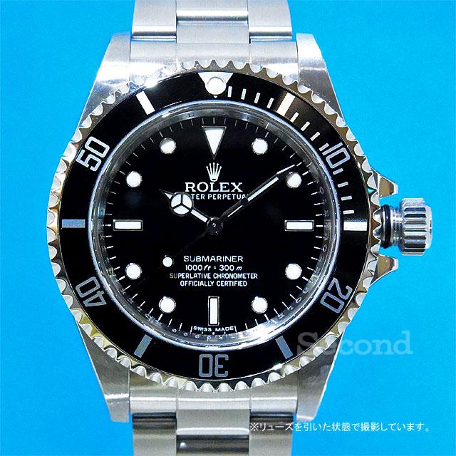 buy popular 37855 b5c5c ロレックス サブマリーナ ノンデイト 14060M (NEW)|セコンド ...