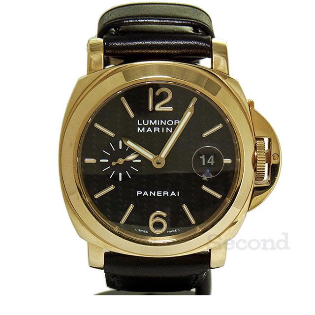 wholesale dealer 8e1a7 1fbfa パネライ ルミノール マリーナ PAM00140 (USED)|セコンド(Second)
