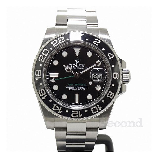 best website f3f38 ed0dd ロレックス GMTマスターⅡ 116710LN (USED)|セコンド(Second)